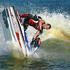 Jet Ski Going Under by Colin Smedley