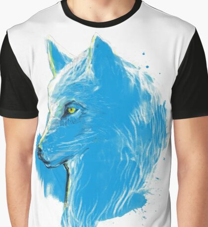 sumi wolf blue Graphic T-Shirt