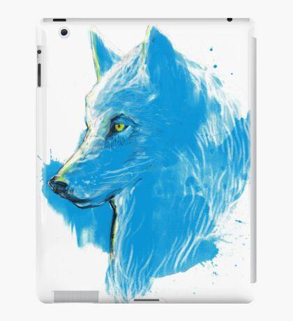 sumi wolf blue iPad Case/Skin