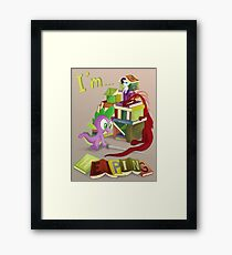 I'm... Spike Framed Print