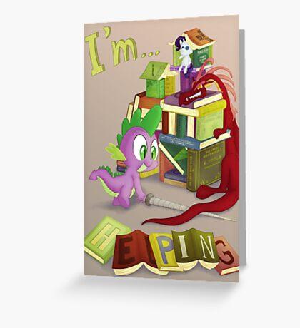 I'm... Spike Greeting Card