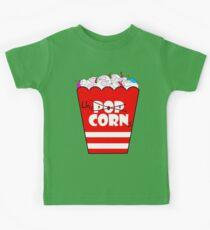 Unicorn Movie Snacks Kids Tee