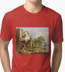 Joseph Wright Of Derby - The Old Man And Death Tri-blend T-Shirt