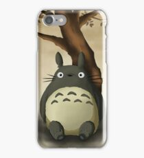 Beautiful Totoro - Digital Art iPhone Case/Skin