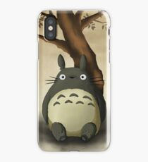 Beautiful Totoro - Digital Art iPhone Case