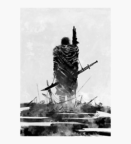 Scorched Earth Hero Photographic Print