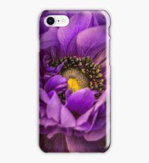 Anemone macro iPhone Case/Skin
