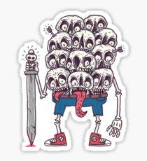 boneheads Sticker