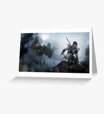 Thunder & Fire Greeting Card