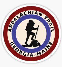 HIKING APPALACHIAN TRAIL HIKE HIKER MOUNTAINS MAINE GEORGIA TENNESSEE 2 Sticker