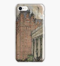 Joseph Pennell - Waldorf Astoria Hotel iPhone Case/Skin