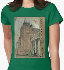 Joseph Pennell - Waldorf Astoria Hotel Womens Fitted T-Shirt