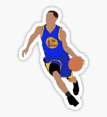 STEPH CURRY CARTOON DRAWING ARTWORK NBA BASKETBALL WARRIORS Sticker