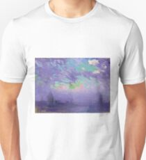 Joseph Pennell - Green, Blue And Purple (View Of London) Unisex T-Shirt