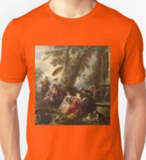 Joseph Parrocel - The Return From The Hunt Unisex T-Shirt
