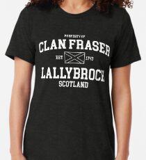 clan fraser Tri-blend T-Shirt