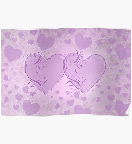 Hearts Entwined Poster