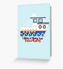 FerryBoats Greeting Card