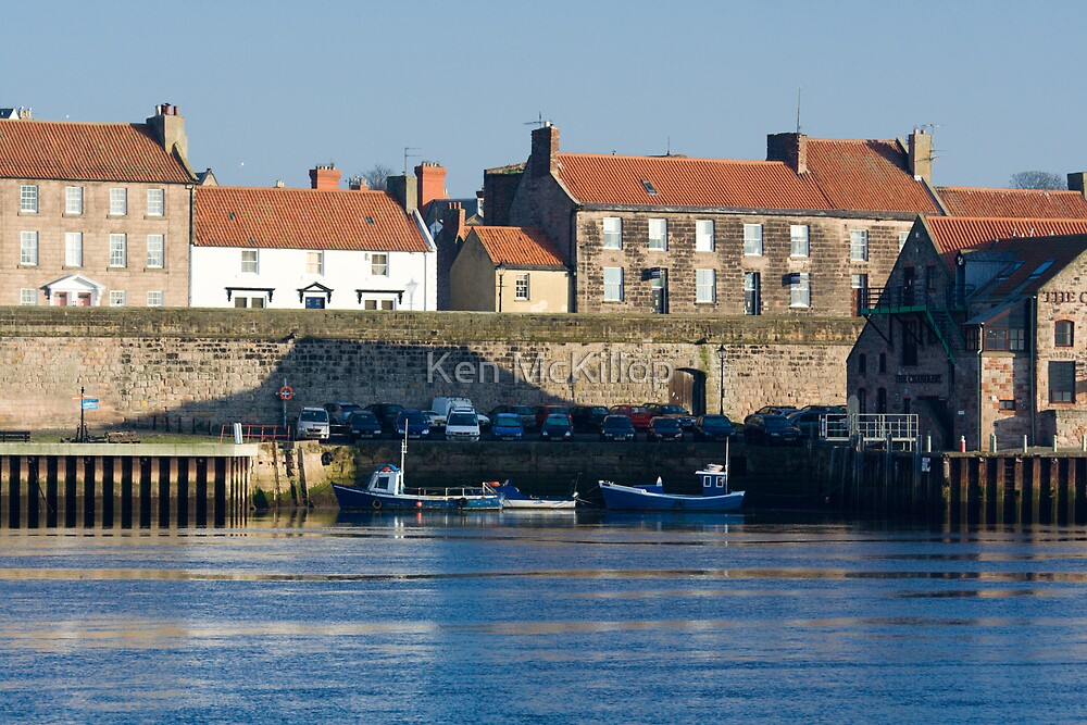 boats at berwick by Ken McKillop