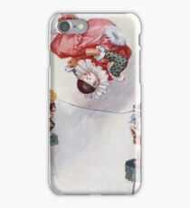 Joseph Finnemore - Dog And Clown Circus Act iPhone Case/Skin