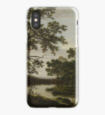 Joris Van Der Haagen - A River Landscape iPhone Case/Skin