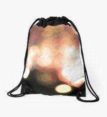 Hazy night moods Drawstring Bag