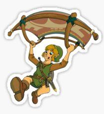 Paragliding Link Sticker