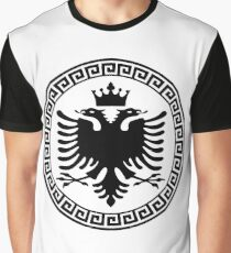 Albania with Crown Graphic T-Shirt
