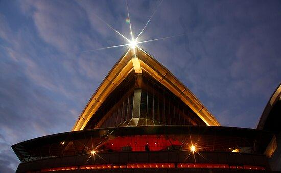 Sydney Opera House at Dawn by Cameron O'Neill