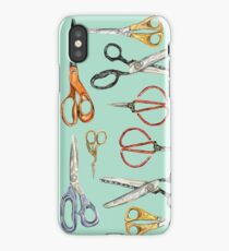 Scissors Collection iPhone Case/Skin