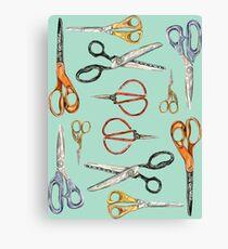 Scissors Collection Canvas Print