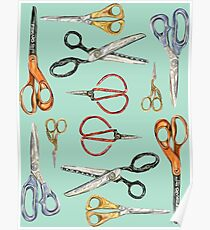 Scissors Collection Poster