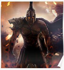 Gothic Gladiator Poster