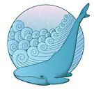 Wal auf den Wellen von Viktoriia