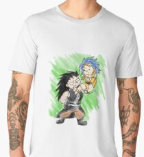 Dragon and the Book Worm Men's Premium T-Shirt
