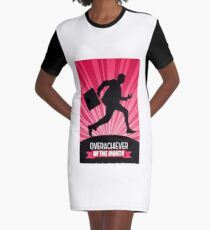 overachiever of the month office work Graphic T-Shirt Dress