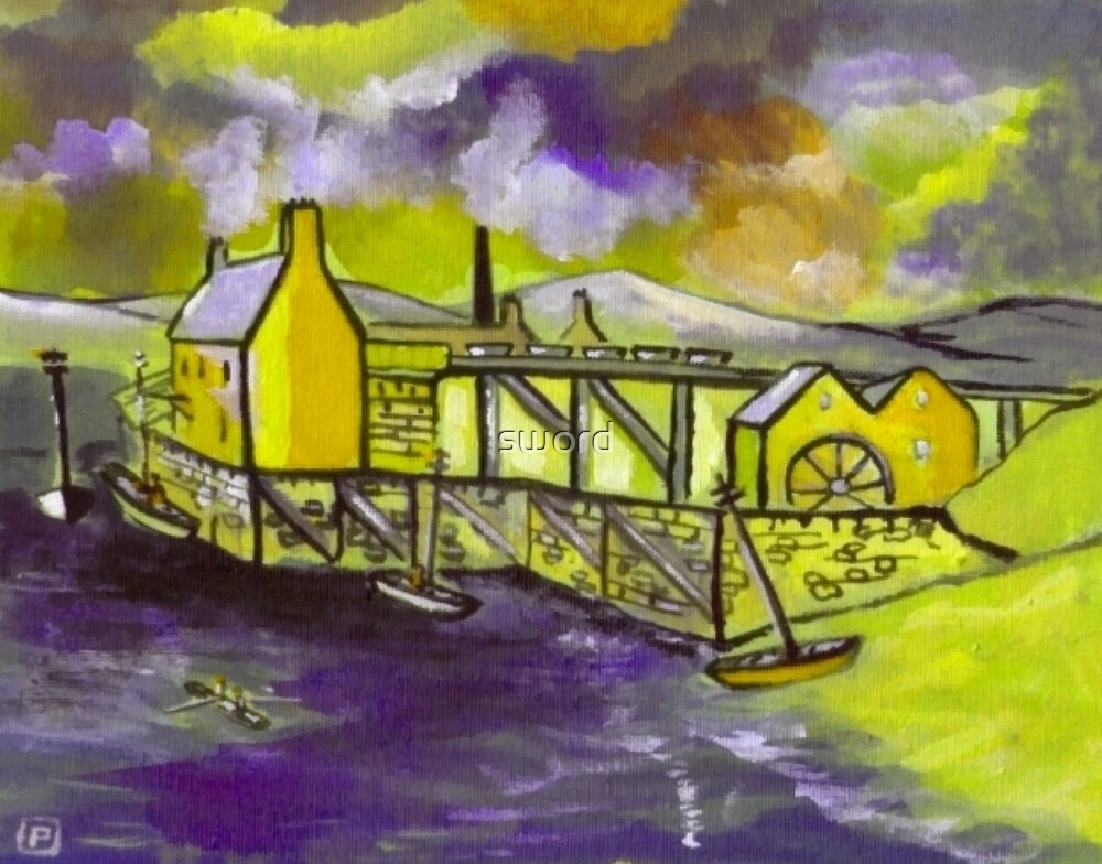 Benwell Colliery by sword