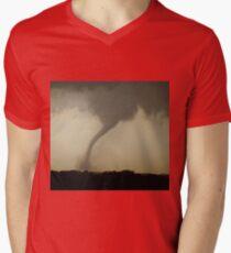 Kansas Tornado Men's V-Neck T-Shirt