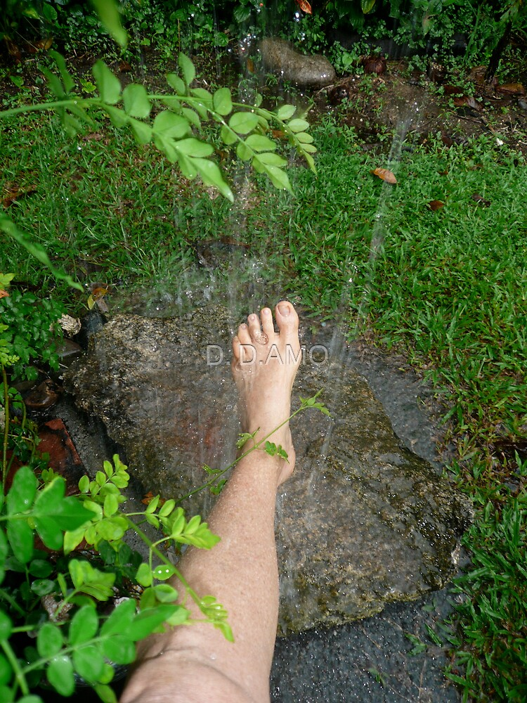 Washing feet by D. D.AMO