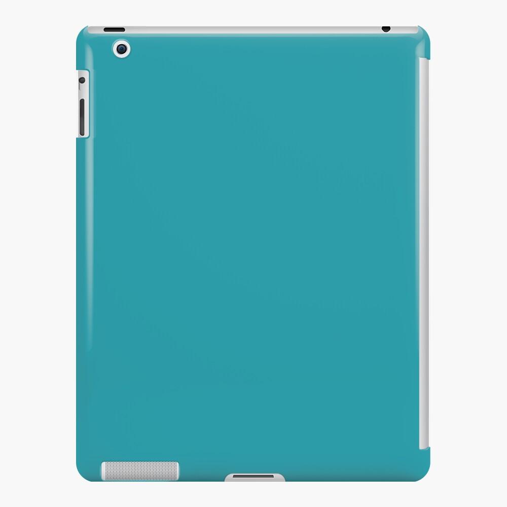 Teal / Light Sea Green einfarbig iPad-Hülle & Skin