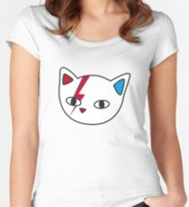 New Meowie Women's Fitted Scoop T-Shirt