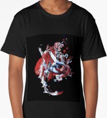 Abstract Art Face Long T-Shirt