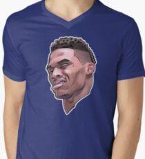 Russell Westbrook Men's V-Neck T-Shirt