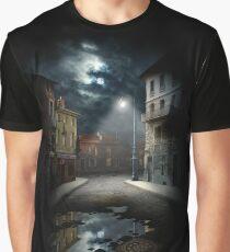 Night Street Graphic T-Shirt