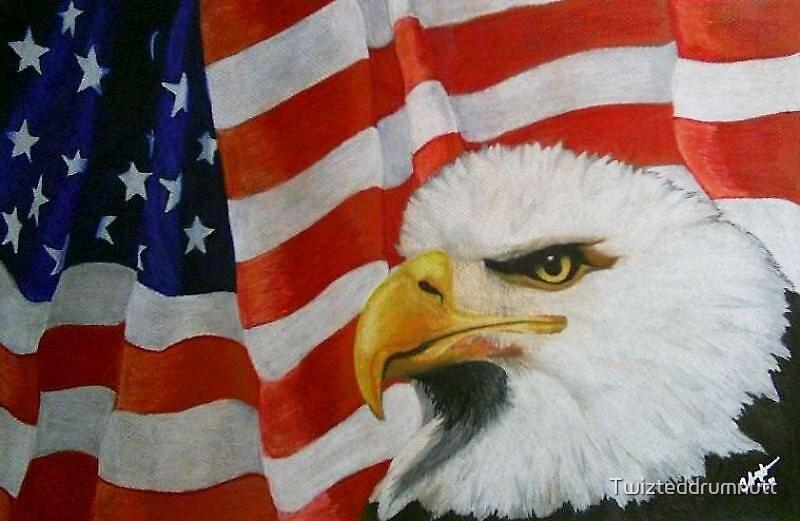 Let Freedom Ring by Twizteddrumnutt