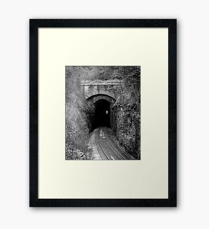 Cowan Tunnel Framed Print