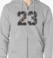 Michael Jordan 23 Zipped Hoodie