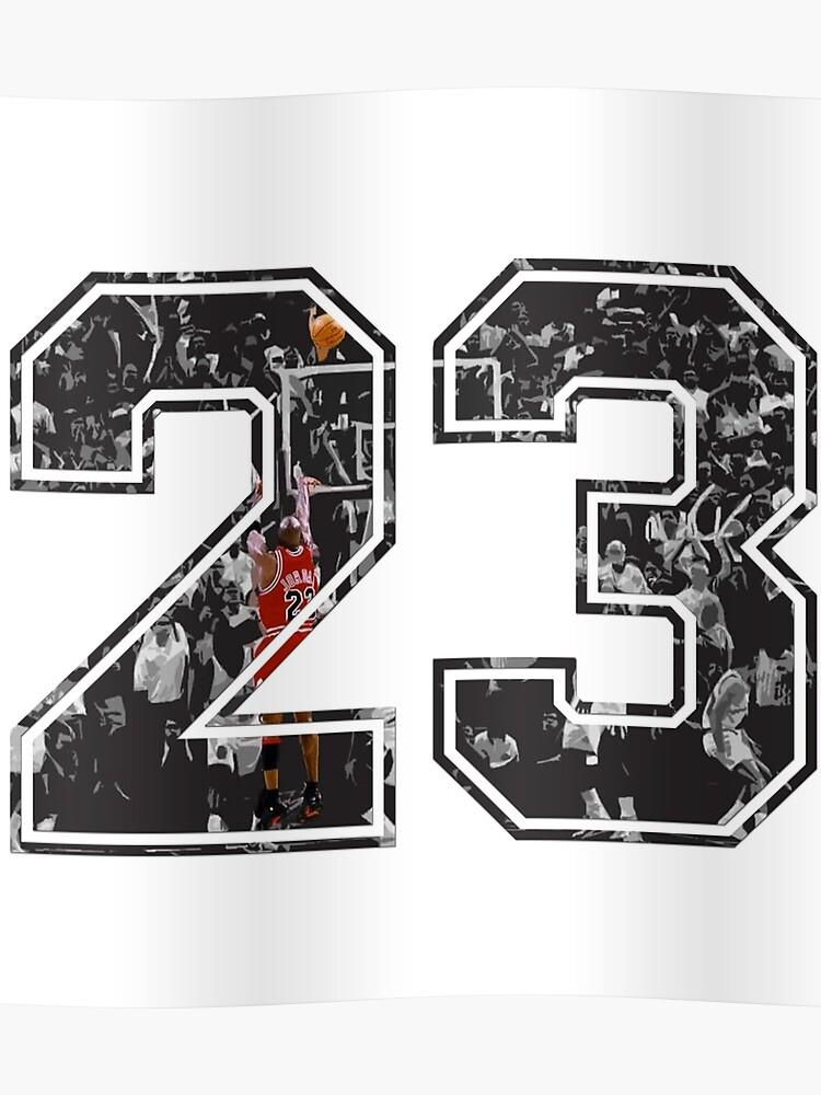 la meilleure attitude d0adb 001f5 Michael Jordan 23 | Poster