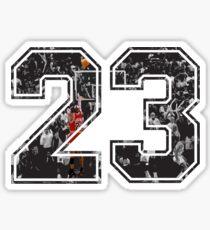Michael Jordan 23 Sticker