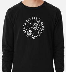 Death Before Decaf Lightweight Sweatshirt